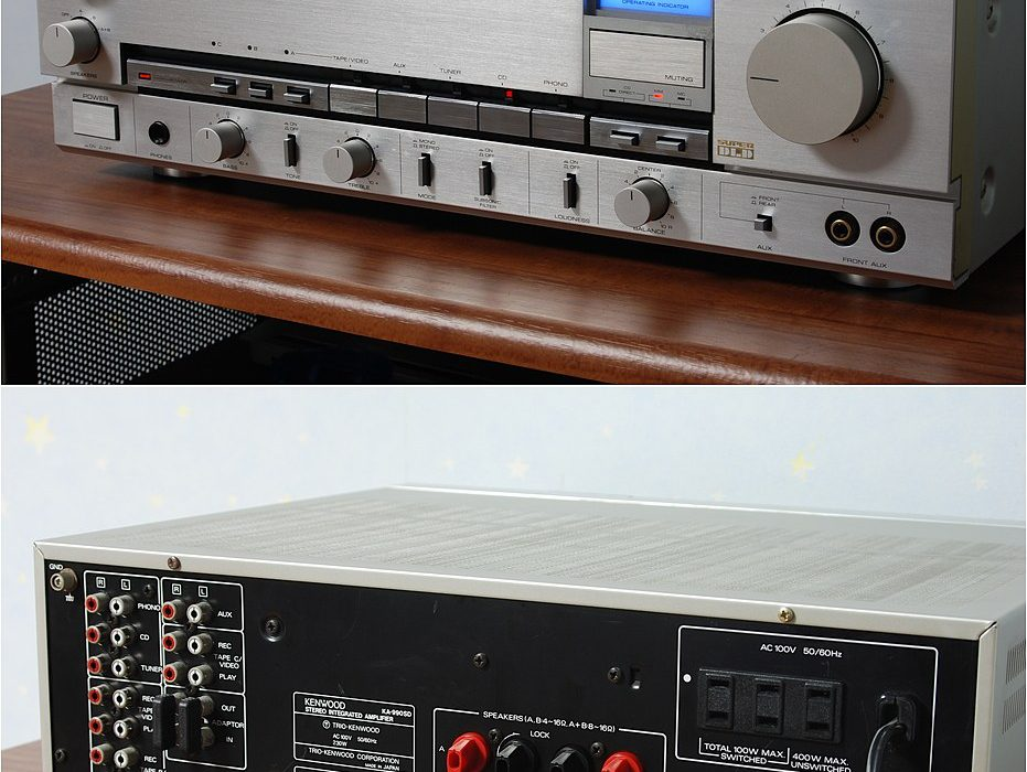 日立 TRIO KA-990SD 功率放大器