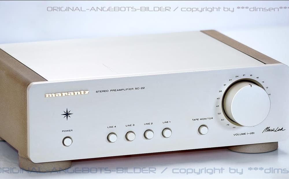 马兰士 MARANTZ SC-22 MusicLink High-End 前级放大器