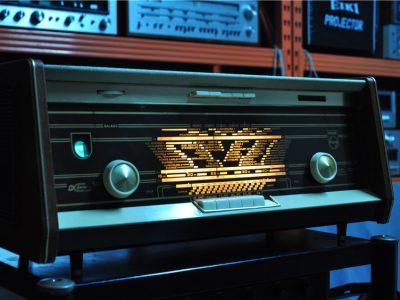 飞利浦 PHILIPS B5X14A 电子管收音机