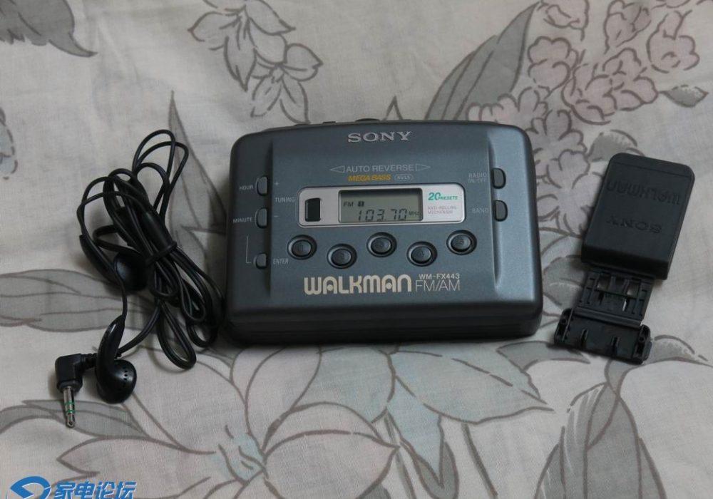 索尼 SONY WM-FX443 磁带随身听