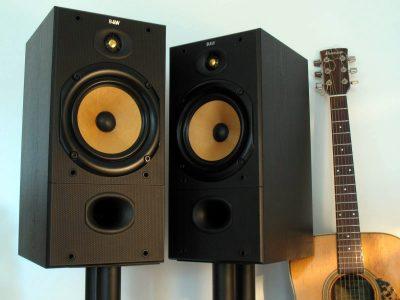 B&W DM602 Hi-Fi 书架音箱