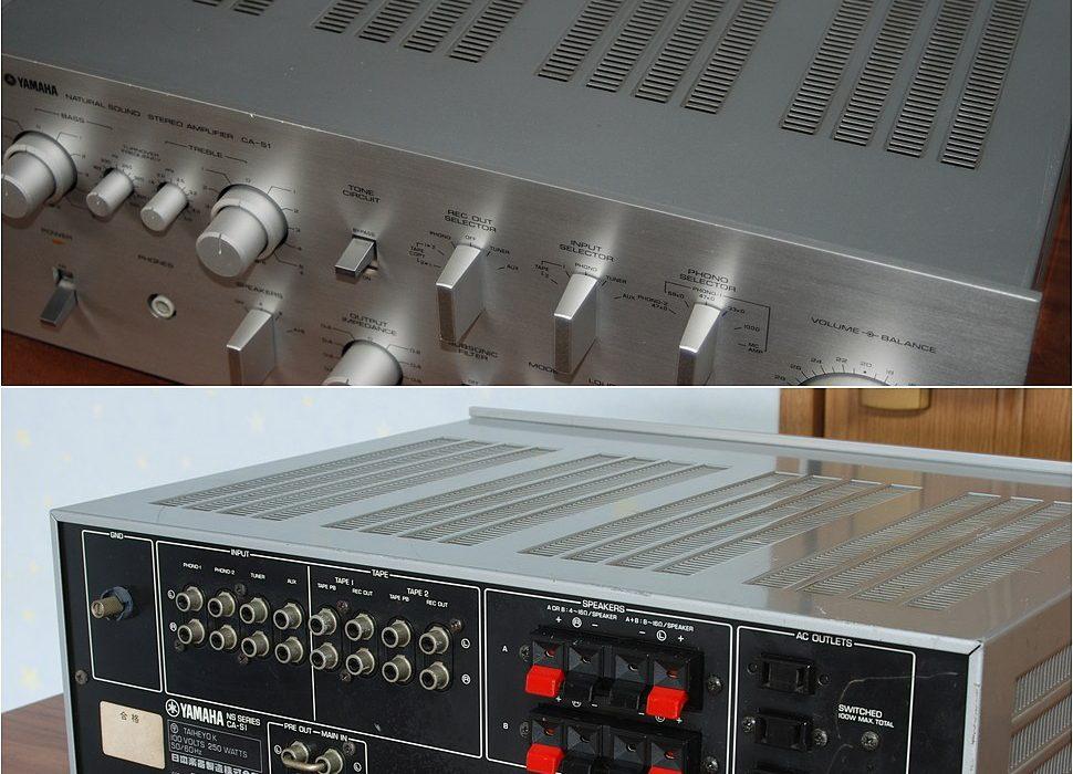 雅马哈 YAMAHA CA-S1 功率放大器