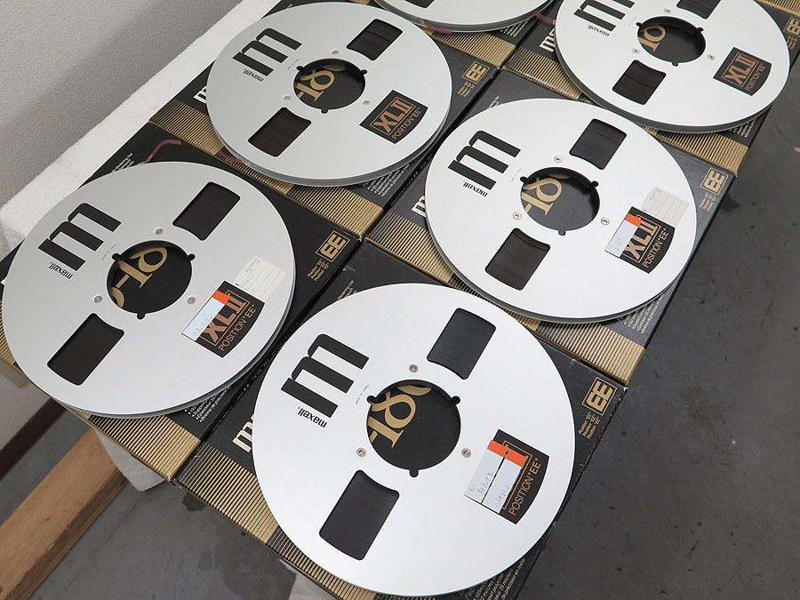 Maxell XLII 35-180 开盘录音带