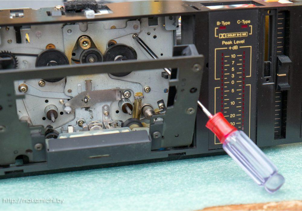 Nakamichi BX-300E - cam motor repair