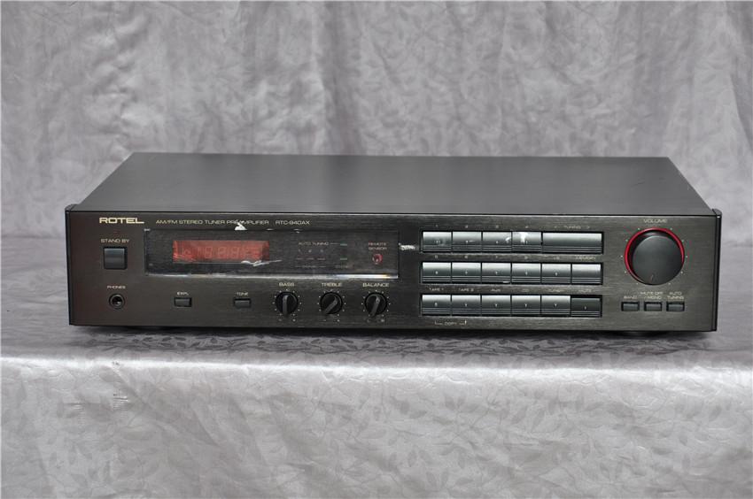 ROTEL RTC-940AX 前级带收音