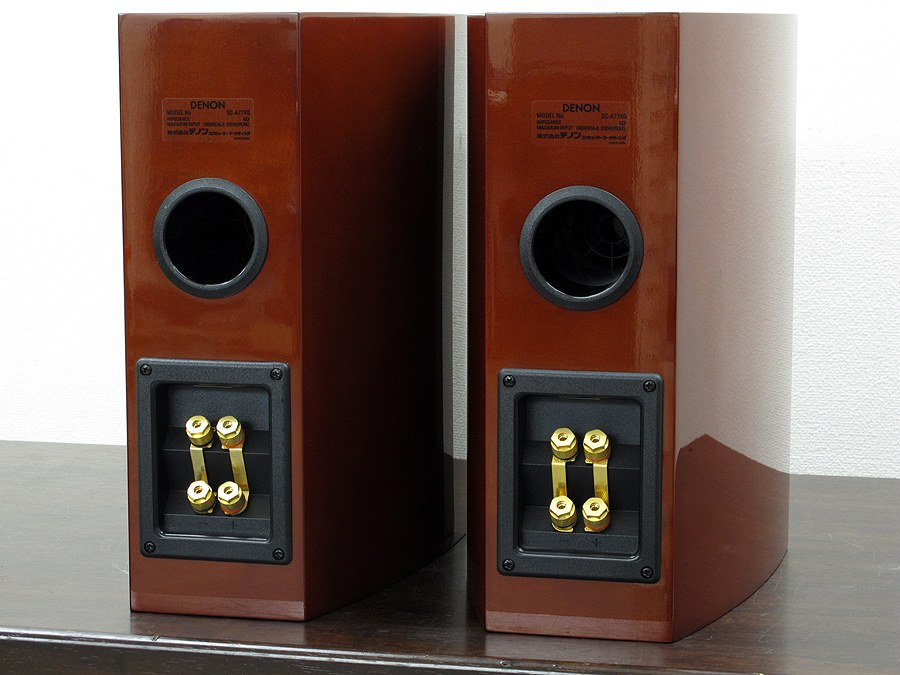 天龙 DENON SC-A77XG 书架音箱