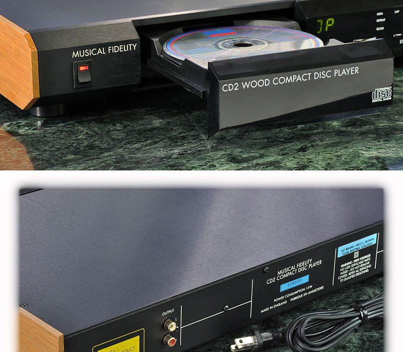 MUSICAL FIDELITY CD2 WOOD CD播放机