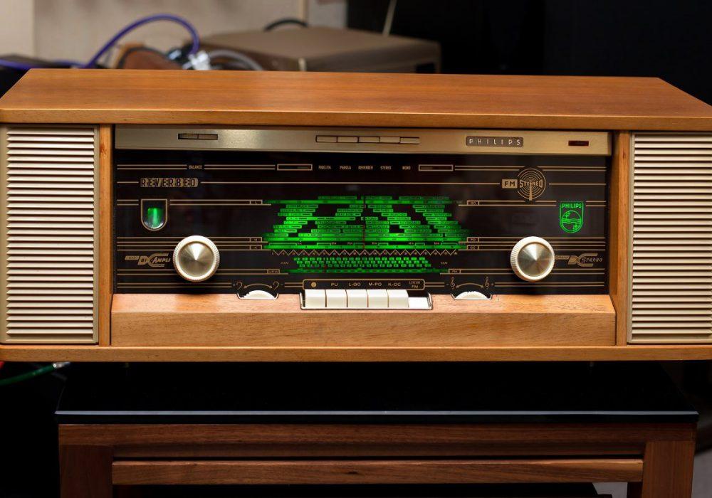 Philips REVERBEO 电子管收音机