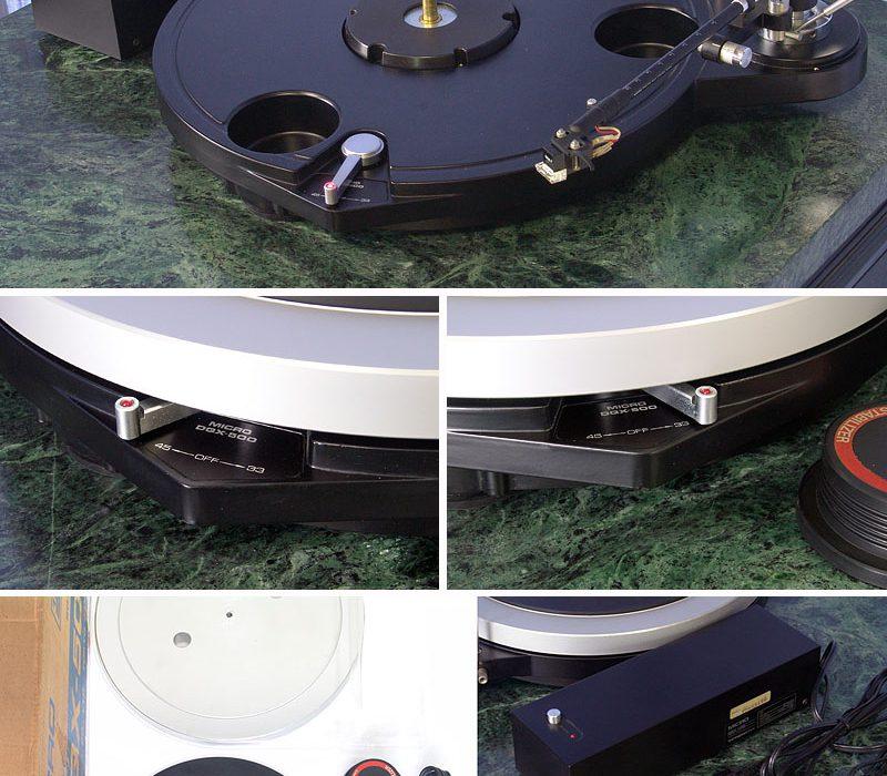 MICRO DQX-500 黑胶唱机