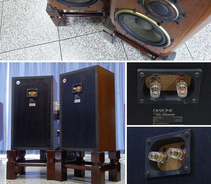 三菱 DIATONE DS-2000HR 书架音箱