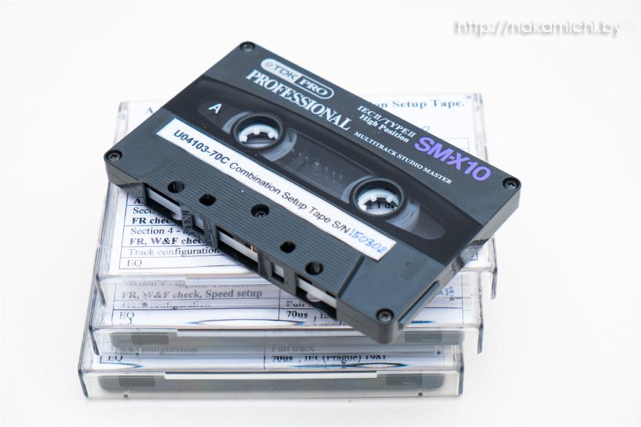 TDK SM-X10 盒式录音带