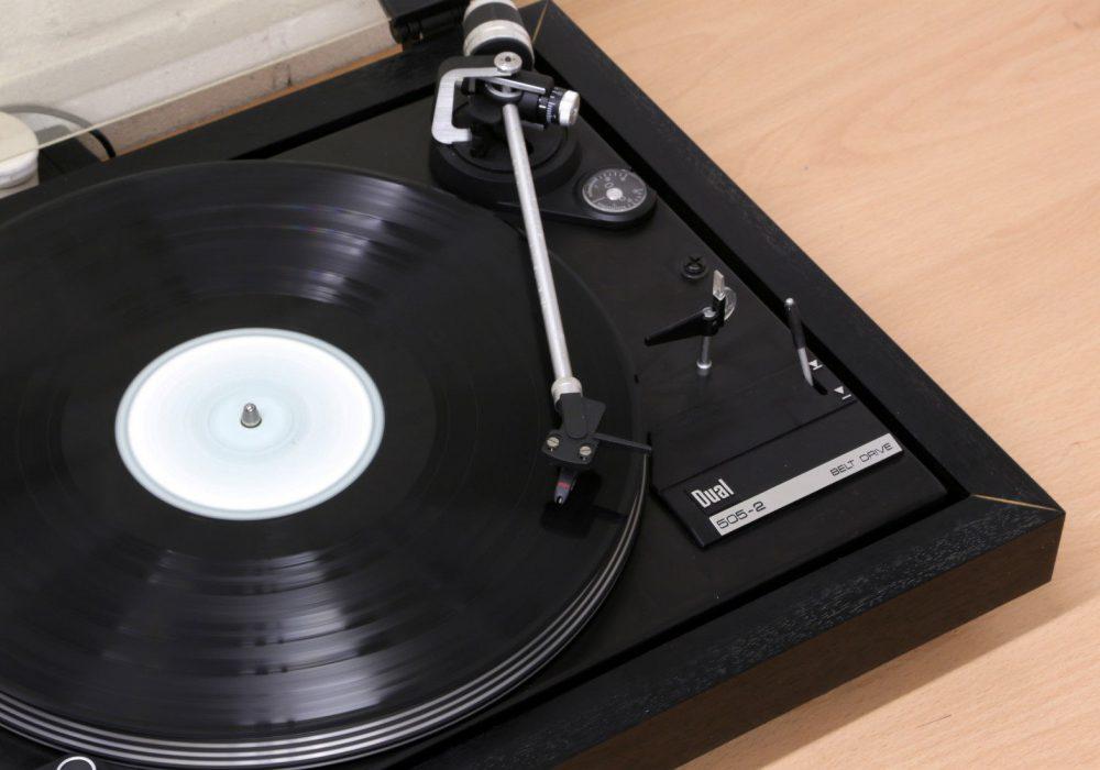 DUAL CS 505-2 黑胶唱机