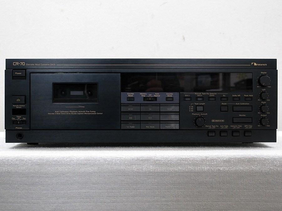 中道 NAKAMICHI CR-70 卡座 + RM-7C 遥控器