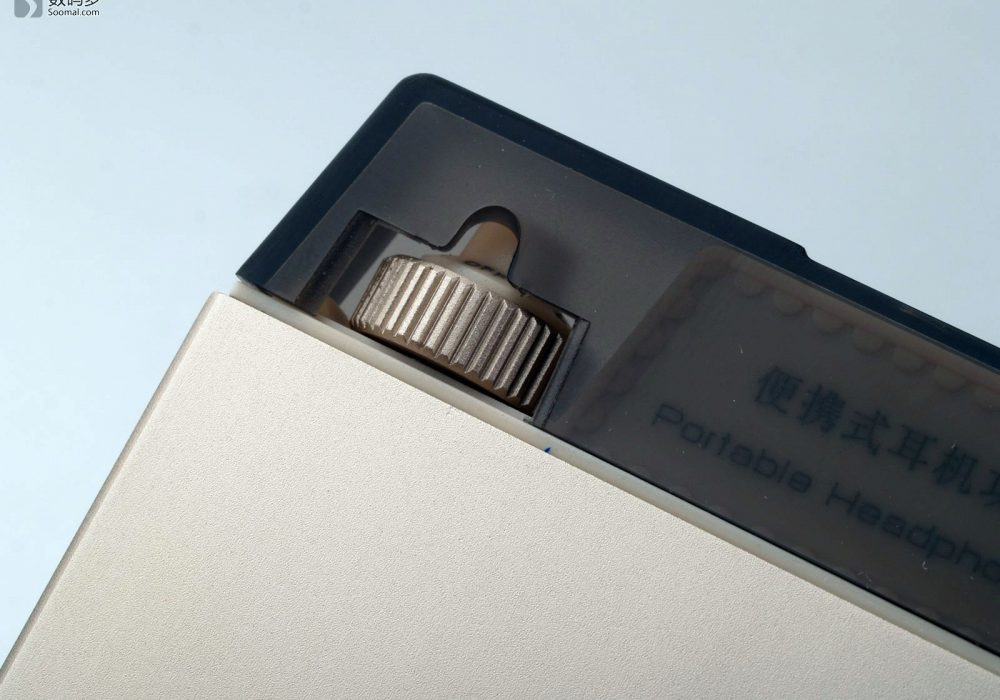 Cayin 凯音 C5 便携式耳机放大器-音量调节电位器