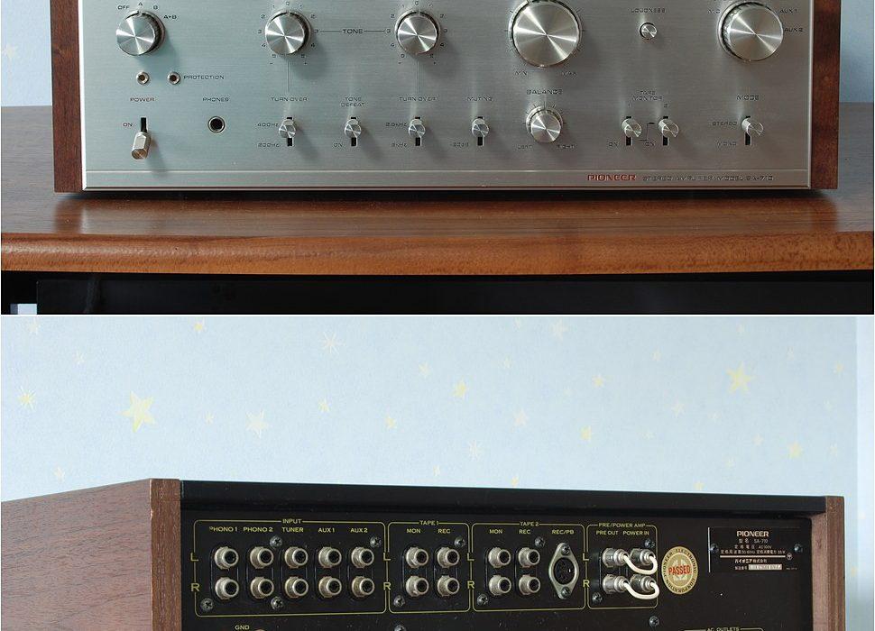 先锋 PIONEER SA-710 功率放大器