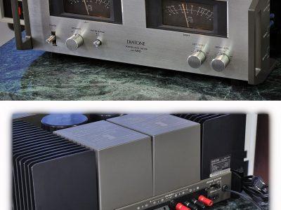 三菱名机 DIATONE DA-A10 + DA-M10 功率放大器