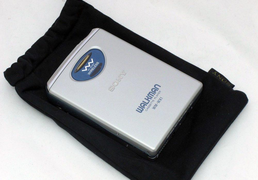 索尼 SONY WM-WX1 无线耳机 磁带随身听