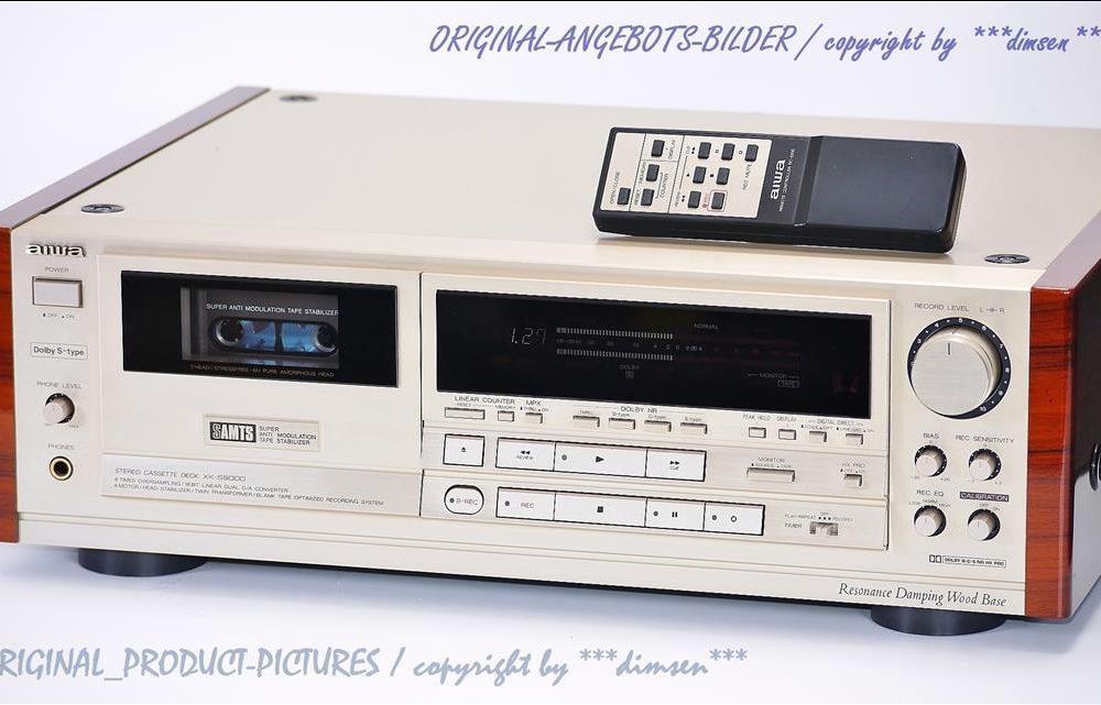 爱华 AIWA XK-S9000 High-End 高级磁带卡座