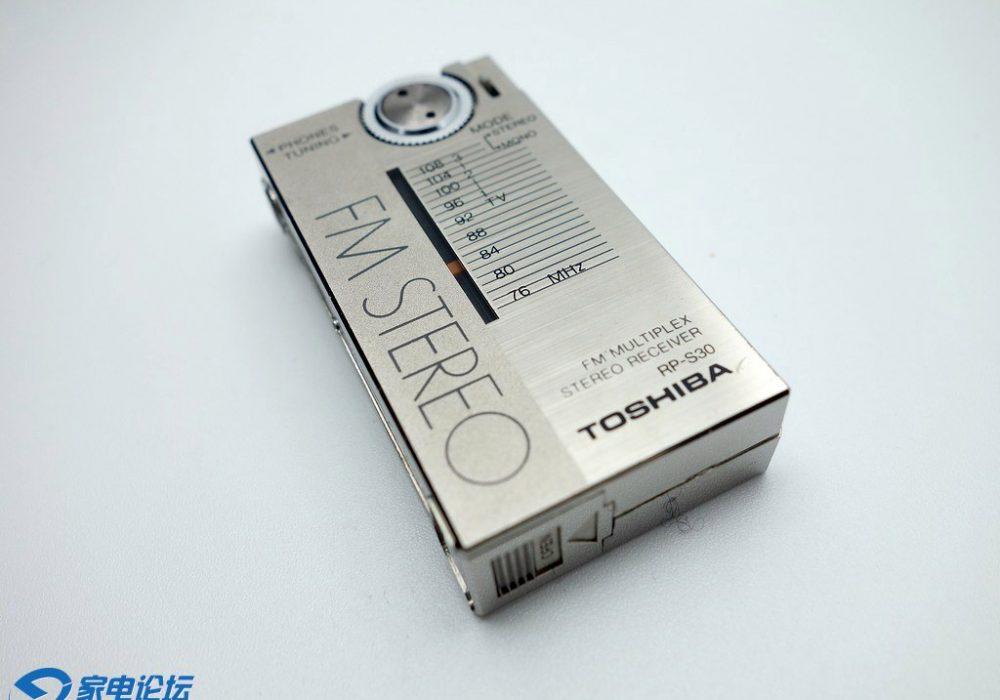 东芝 TOSHIBA RP-S30 袖珍收音机