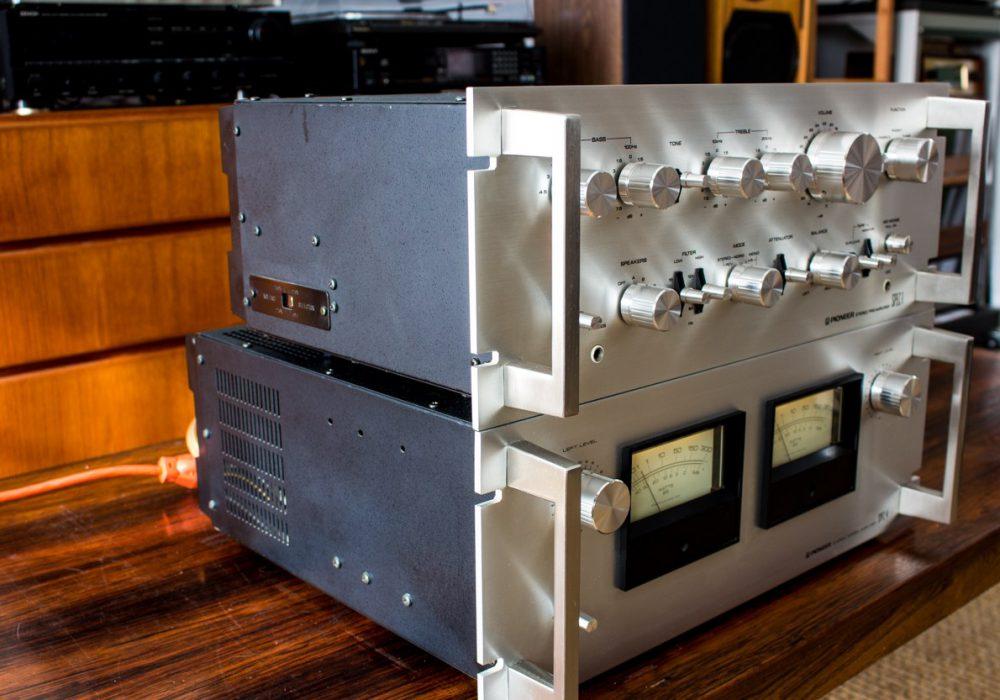 先锋 PIONEER Spec 1 Preamplifier & Spec 4 Amplifier