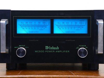 麦景图 Mcintosh MC500 功率放大器