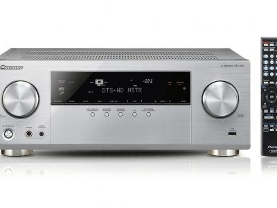 VSX-830-S 5.2-Channel AV Receiver with Ultra HD 4K Pass Through, Hi-Res Audio playback, Dual Subwoofer Preout, Subwoofer EQ, DLNA, AirPlay, Spotify Connect and Built-in Bluetooth (Silver)