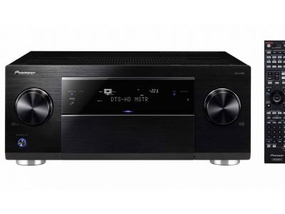 SC-LX58-K 9.2-Channel AV receiver with Class D Amplification, 4K Upscaling, SABRE<sup>32</sup> Ultra DAC, Dolby Atmos upgradable, DSD Playback, Wi-Fi, AirPlay, DLNA, Bluetooth (Black)