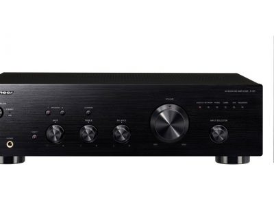 A-20-K 50W Stereo Amplifier with Direct Energy Design and Aluminium Panels (Black)