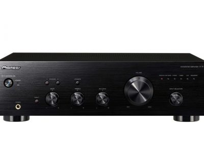 A-10-K 50W Stereo Amplifier with Direct Energy Design (Black)