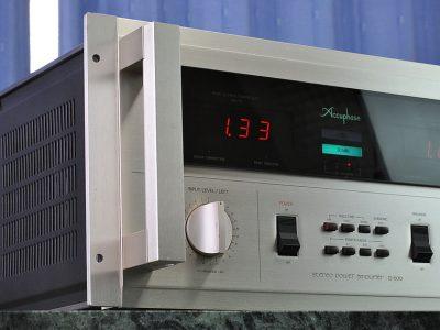 金嗓子 Accuphase P-600 功率放大器