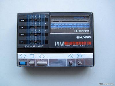 夏普 SHARP JC-77 磁带随身听