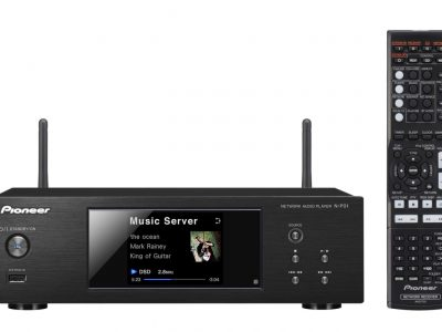N-P01-K Compact Network Audio player with USB, DLNA, AirPlay, Spotify, vTuner, and Bluetooth (Black) – Pioneer Network Player