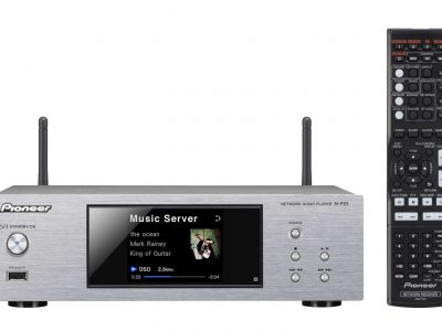 N-P01-S Compact Network Audio player with USB, DLNA, AirPlay, Spotify, vTuner, and Bluetooth (Silver) - Pioneer Network Player