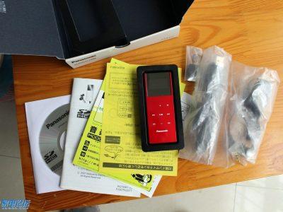 松下 Panasonic SV-SD850N + SV-SD100V MP3播放器