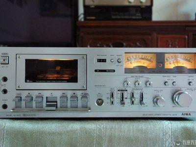 爱华 AIWA AD-6800 漂亮银色表卡 故障机