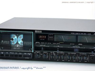 阿尔派 ALPINE AL-85 双表头高级磁带卡座