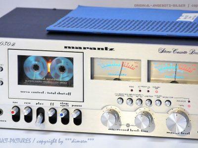 马兰士 MARANTZ MODEL 5030B 双表头古典磁带卡座
