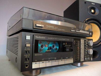 松下 Technics SL-3  黑胶唱机 + SA-K6L 收录机 音响组合