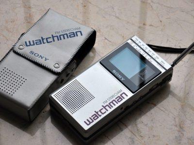 索尼最经典收音电视一体机 watchman