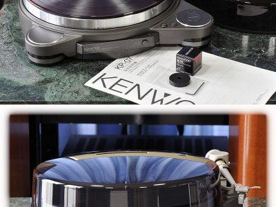 KENWOOD KP-07 黑胶唱机
