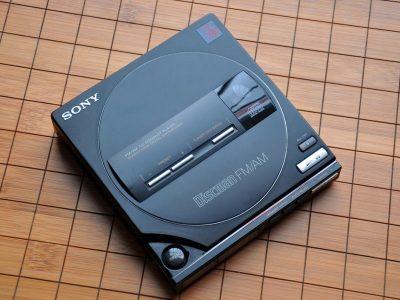 索尼 SONY D-T100 CD随身听