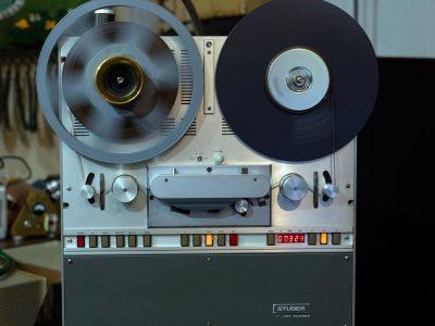 STUDER B67 BBC顶级专业电台版两轨开盘机 – 广安经典音响