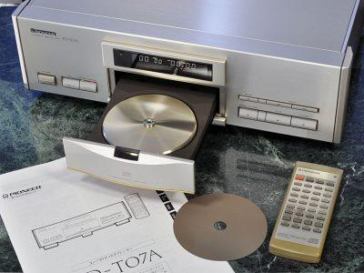 先锋 PIONEER PD-T07A CD播放台机