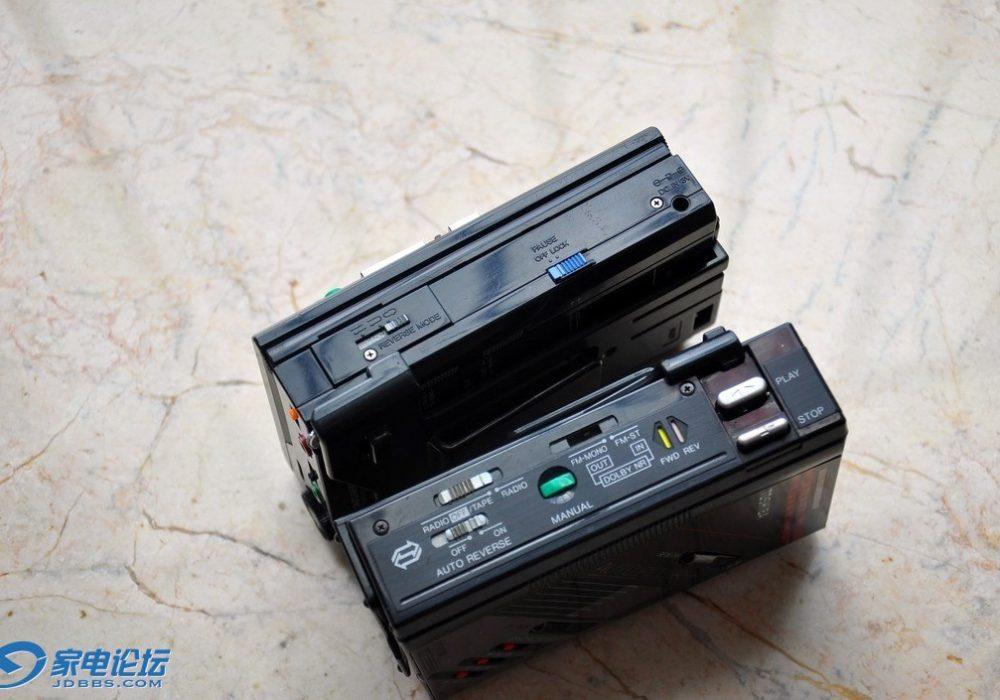 Toshiba KT-V680 + KT-V750 磁带随身听