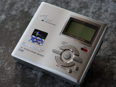 SHARP DR480H MD随身听