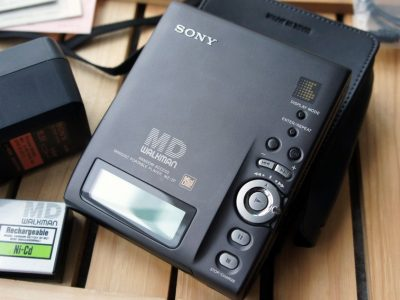 SONY MZ-2P MD随身听