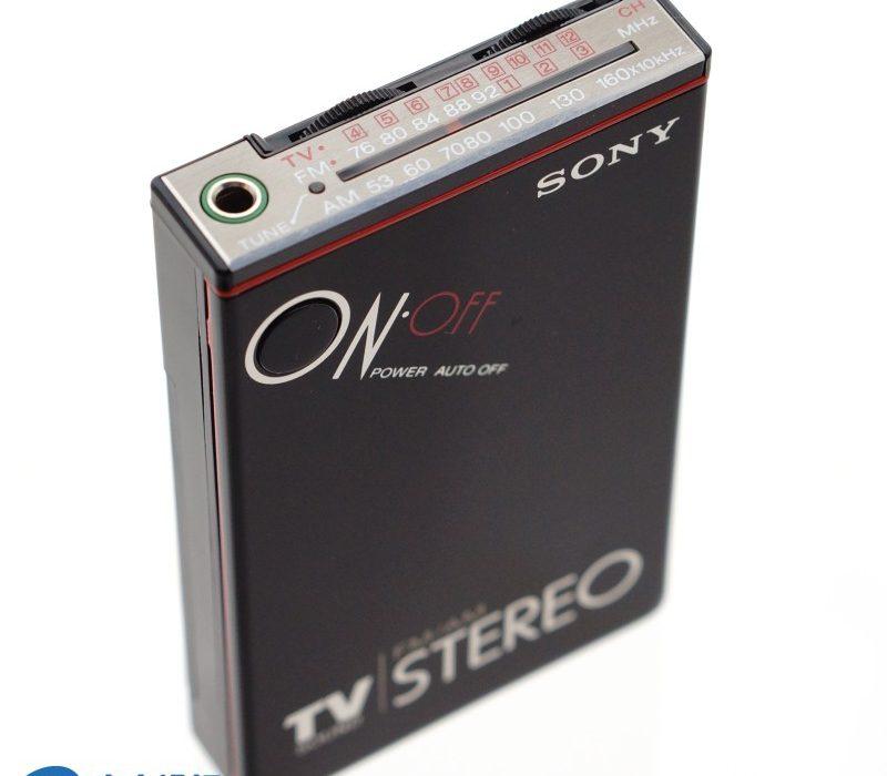 SONY SRF-12 卡片收音机
