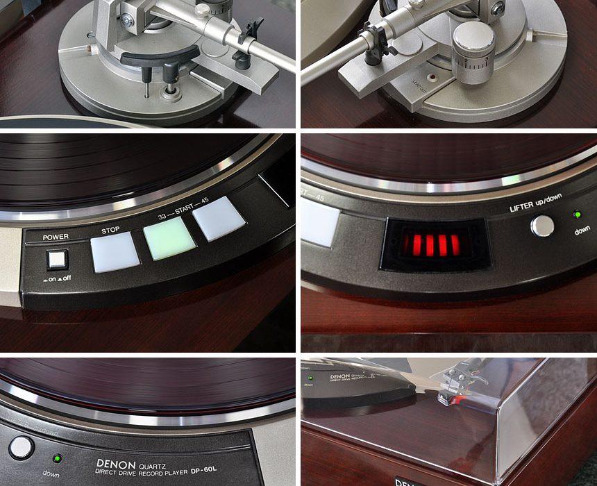 DENON DP-60L 黑胶唱机