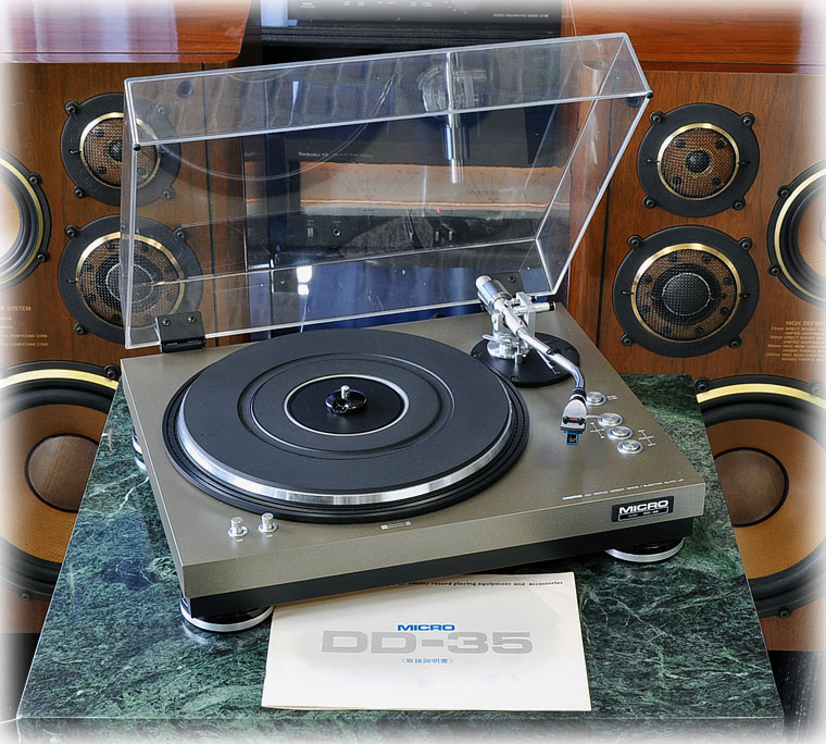 MICRO DD-35 黑胶唱机