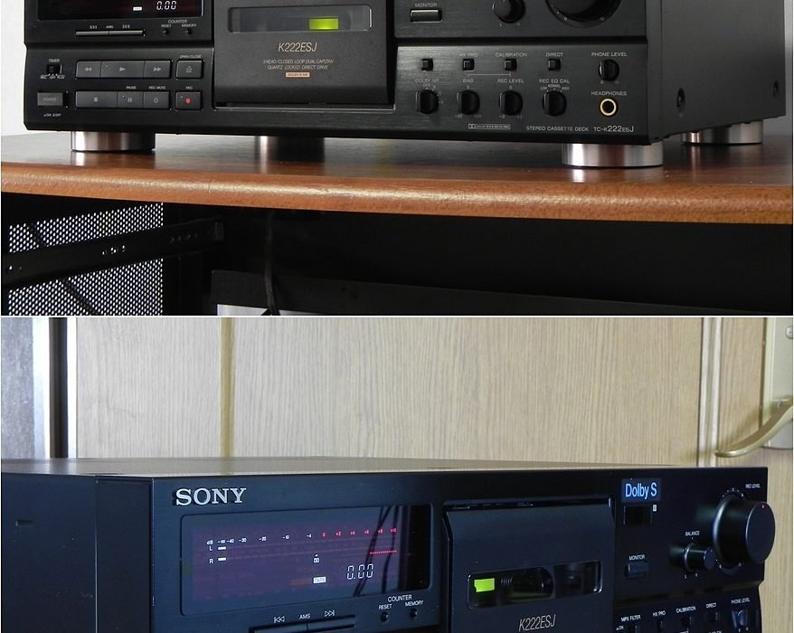 索尼 SONY TC-K222ESJ 三磁头卡座